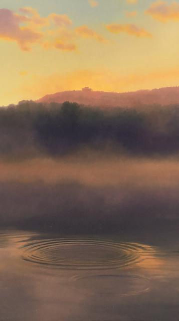 Scott Prior, 'View of Mount Holyoke from the Oxbow', 2017, William Baczek Fine Arts
