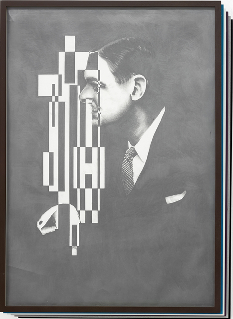 , 'Der Zerfall der Eigenschaften / Collapse of Features (T.S. Eliot),' 2014, Kadel Willborn