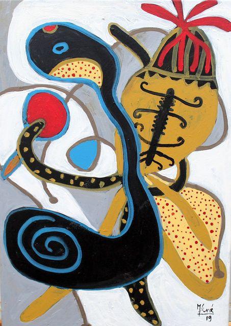 """Méné, 'Série """"Métamorphoses"""" n°13', 2019, Painting, Mixed media on canvas, OH GALLERY"""