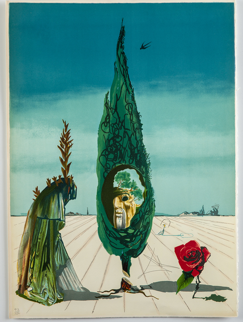 Salvador Dalí, 'Enigma of The Rose (Death)', 1976, Modern Artifact