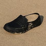 , 'Sand in shoe, shoe in sand,' 2017, Blindspot Gallery