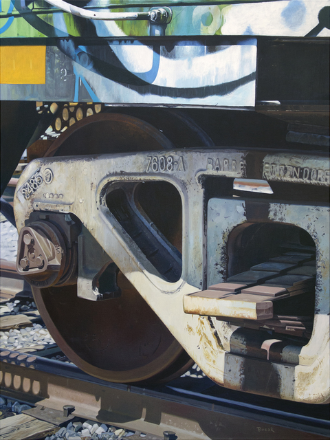 , 'End of the Line,' 2018, {9} The Gallery