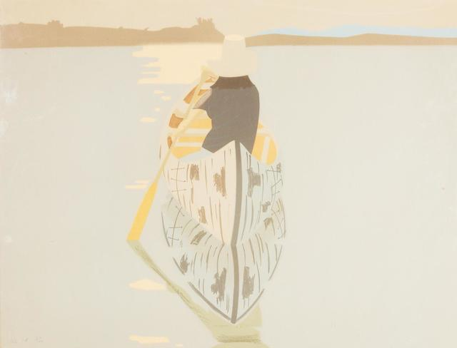 Alex Katz, 'Good Afternoon 2 (Gray Rowboat)', 1975, Hindman