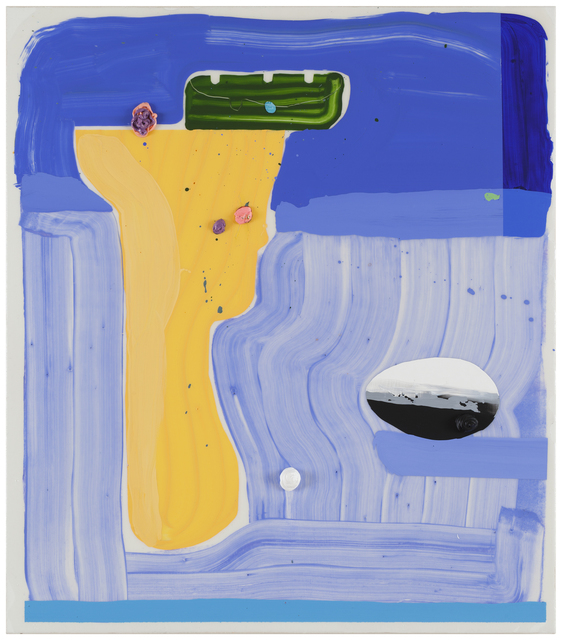 , 'Flat as a Strap,' 2016, Galerie Forsblom
