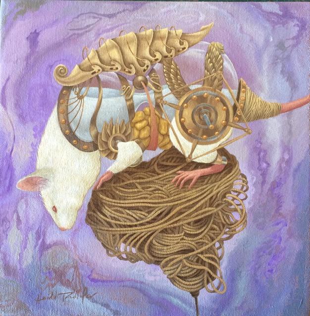 , 'Woolgatherers (Study),' 2016, AFA Gallery