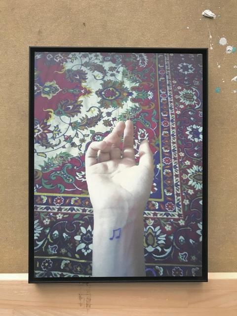, 'Untitled / Note Tattoo, 01/12,' 2017, contemp-rent