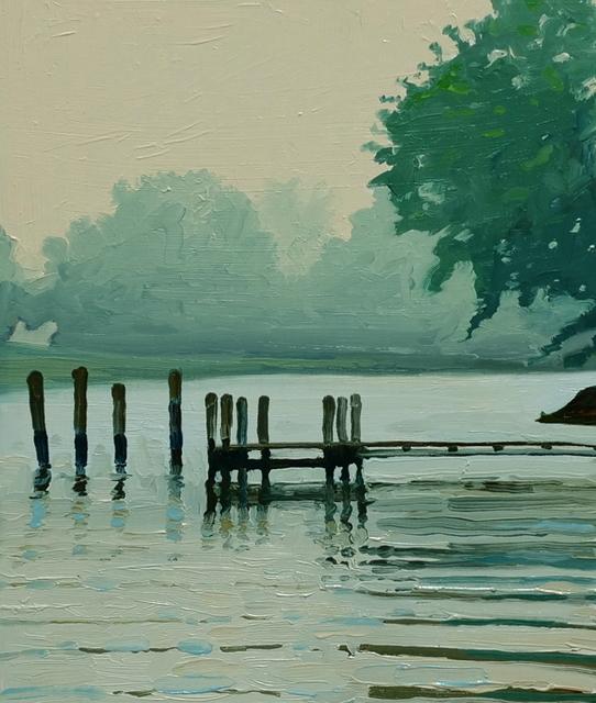 , 'Foggy July,' 2018, Davis Gallery & Framing