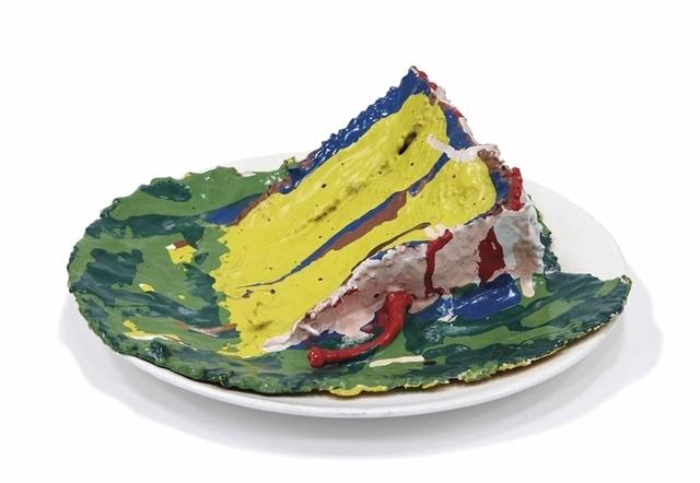Claes Oldenburg, 'Slice of Birthday Cake', Christie's