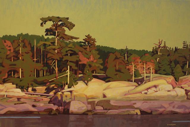 Clayton Anderson, 'Granite Coast', 2019, Madrona Gallery