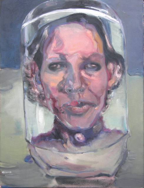 Simona Deflorin, 'Monument für Miss Anton', 2013, Painting, Oil on Canvas, Lakeside Gallery