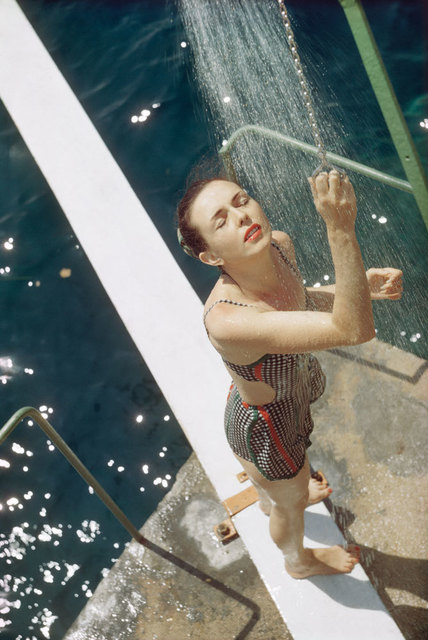 , 'Florette au Monte Carlo Beach,' 1958, Opiom Gallery