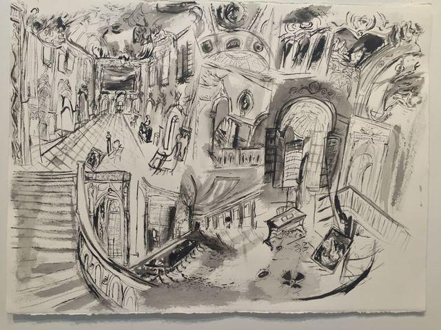Gretchen Scherer, 'Study for Museum Housekeeping', 2015, Galleria Anna Marra
