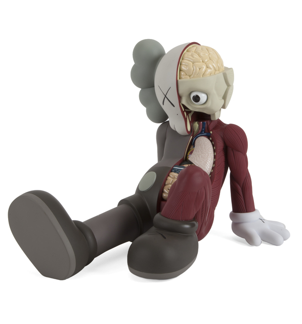 KAWS, 'Resting Place Companion (Brown)', 2012, Julien's Auctions