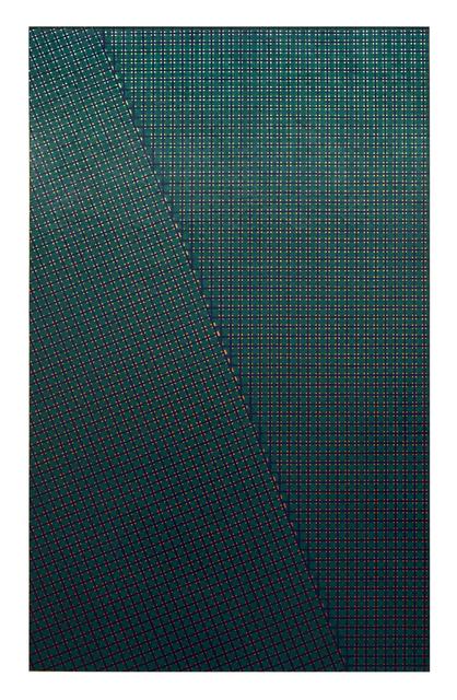 , 'Strutturazione simultanea-cinetica con variazione,' 1956-1959, Dep Art