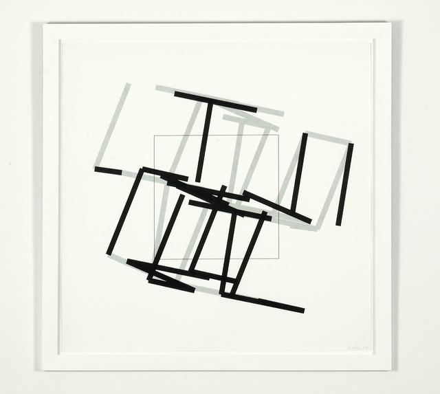 Manfred Mohr, 'P-460a77-3-6', 1989, bitforms gallery