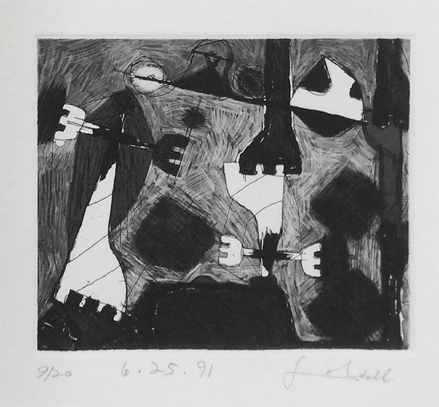 Frank Lobdell, '6.25.91', 1991, Dolby Chadwick Gallery