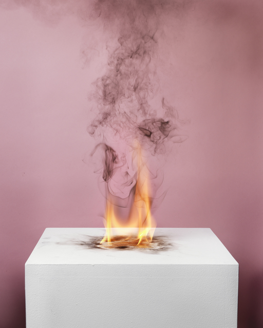 , 'Camphor Flame on Pedestal (0419),' 2010, Nature Morte