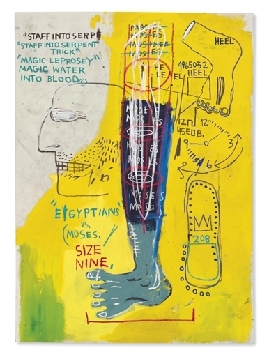 Jean-Michel Basquiat, 'Early Moses', Christie's