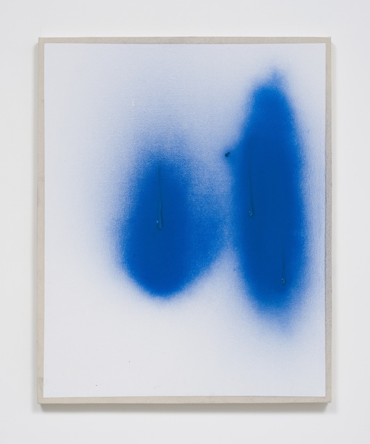 , 'Specific Effect Painting in Cerulean,' 2016, Over the Influence
