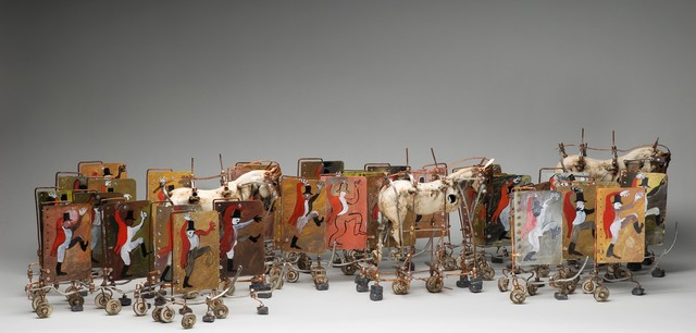 , 'you go to war with the army you have,' 2011, Virginia Museum of Contemporary Art