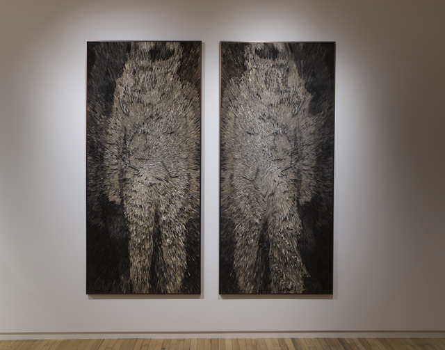 , 'The Vanquished Series: G-Force #1 and #2,' 2016-2017, MASS MoCA