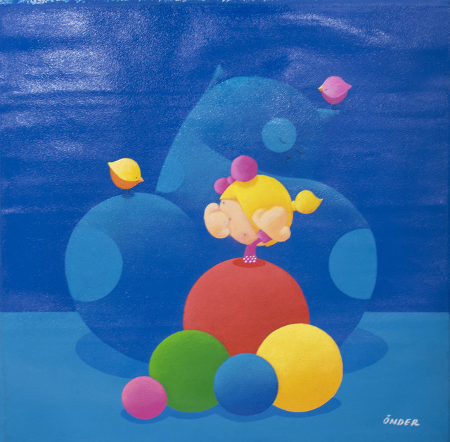 , 'Blue Chat,' , Art WeMe Contemporary Gallery