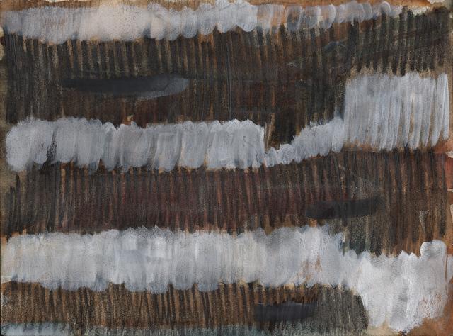, 'Schraffurzeichnung,' 1959, Galerie Jocelyn Wolff