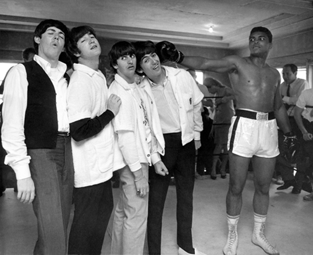 , 'Beatles with Cassius Clay, 5th Street Gym, Miami,' 1964, Cavalier Galleries
