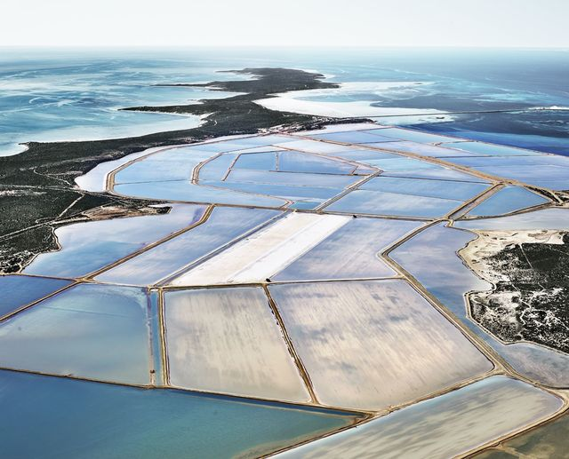 , 'Blue Ponds 04, Shark Bay, Western Australia,' 2015, Galerie de Bellefeuille