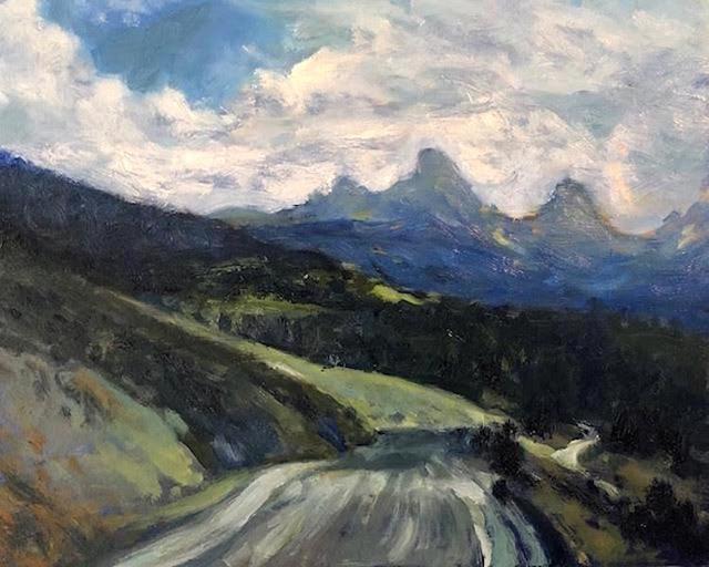 Richard Rosenblatt, 'Teton Valley View', 2019, Painting, Oil, The Galleries at Salmagundi