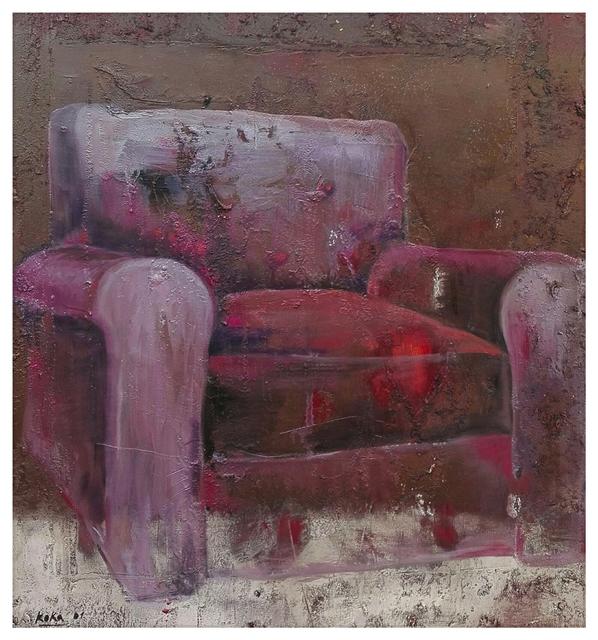 , 'Red armchair nr.2,' 2001, Galeria Kalo
