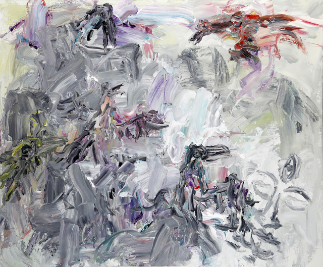 , 'Colourful Bird and Ink Mountain,' 2014, Nanda\Hobbs