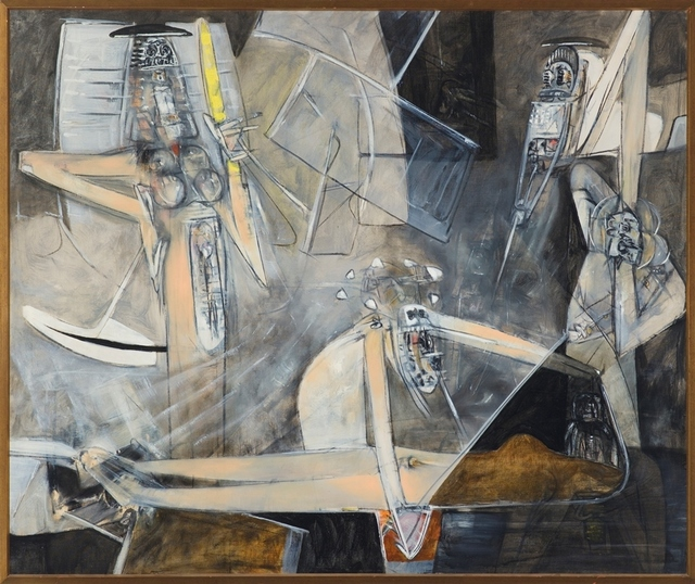 , 'Let's Phosphoresce by Intellection #1,' 1950, MCA Chicago
