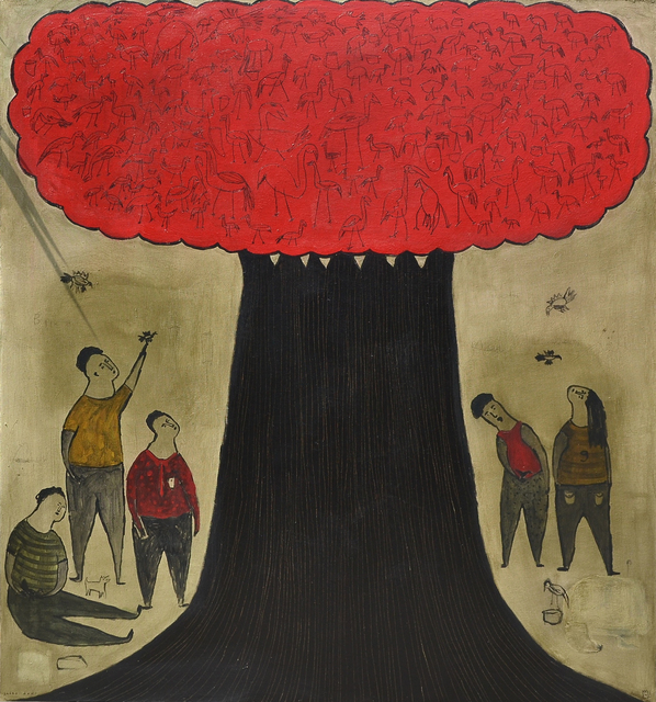, 'Red Tree,' 2014, Gallery LVS