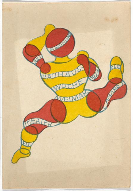 , 'Bauhaus Postcard,' 1923, Maison Particulière