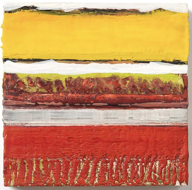 Joan Giordano, 'Sun', 2016, Painting, Encaustic on panel, CITYarts Benefit Auction