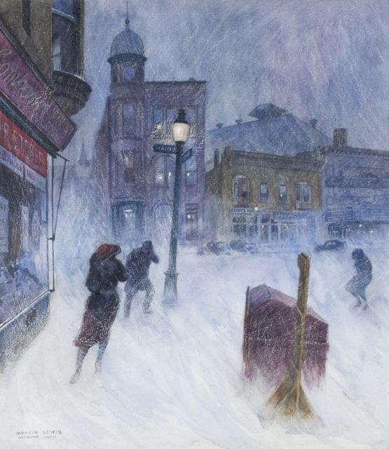 , 'Snowstorm, Danbury, Connecticut,' , Questroyal Fine Art