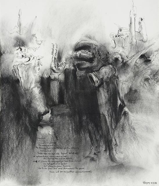 , 'Attention! Attention!,' 1992, Charles Nodrum Gallery