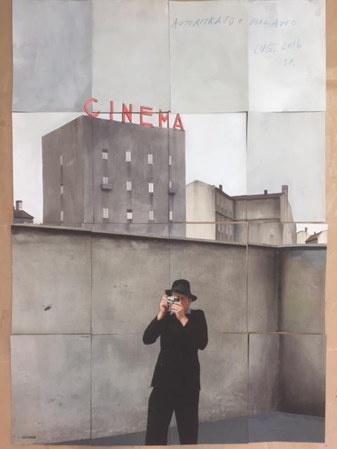 Paolo Ventura, 'Autoritrato, Milano', 2016, Weinstein Gallery - Minneapolis