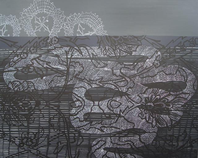 Sarah Amos, 'Storm Lace', 2005, Heather Gaudio Fine Art