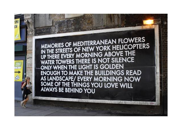 , 'New York Poem,' 2010, C24 Gallery