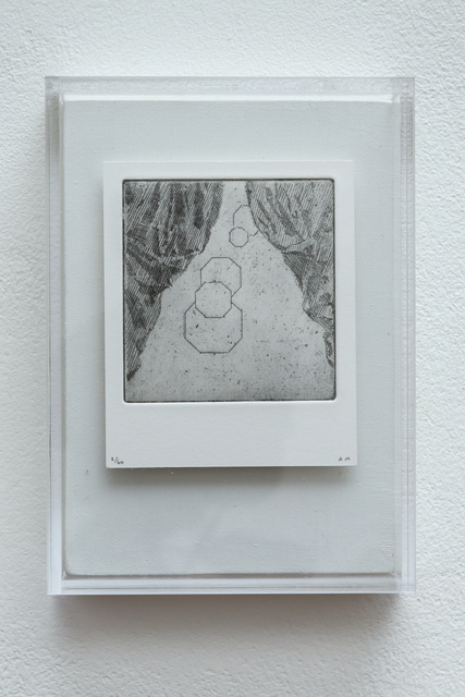 , 'Polaroid Etching 7,' 2015, Joanna Bryant & Julian Page