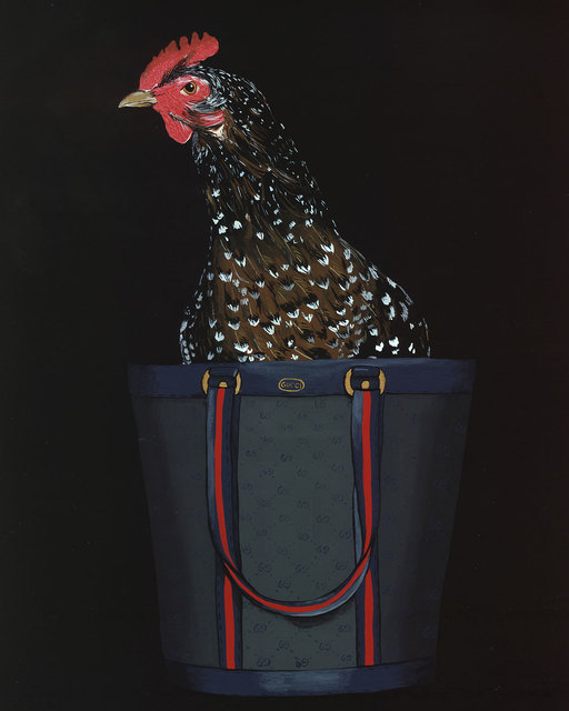 , 'Speckled Sussex in Gucci,' 2014, ArtStar