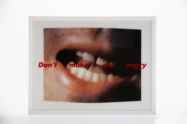 , 'Don't Make Me Angry,' 1999, Wexler Gallery