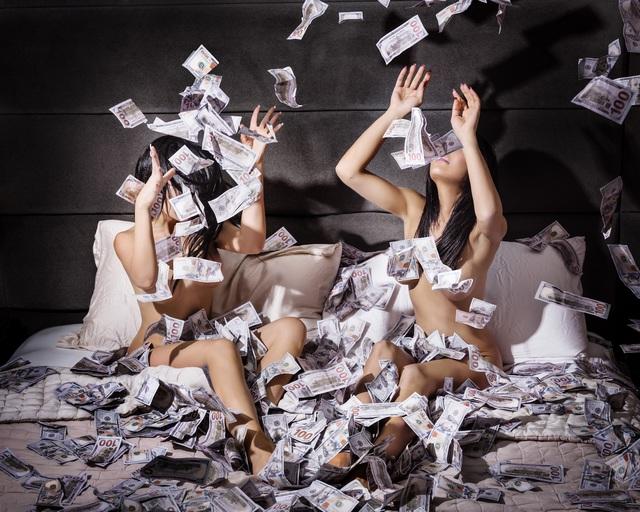 David Drebin, 'Money Shot', Art Angels