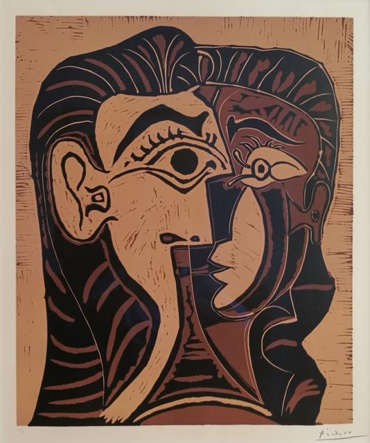 , 'Portrait de Jacqueline de Face I,' 1963, Galerie Jean-François Cazeau