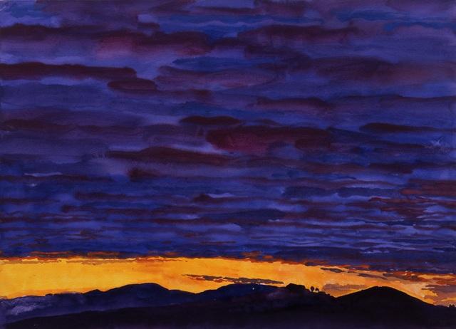 , 'Black Hush: Dawn, Luciano d'Asso,' 2005, New York Studio School