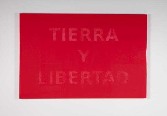, 'Bandera Magonista,' 2013, Galería OMR