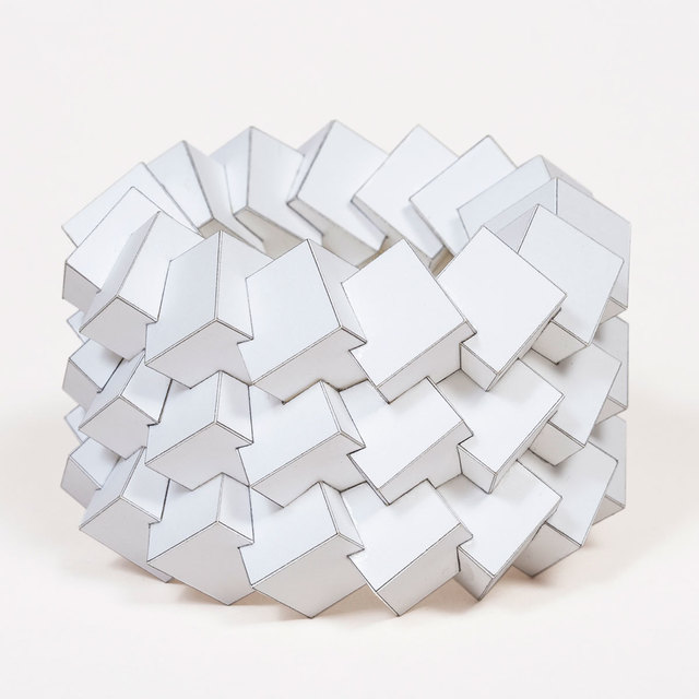 , '45 Cubes,' 2015, Patrick Parrish Gallery