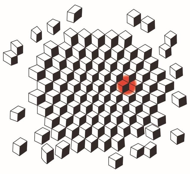 , 'Full Stop. Cube,' 2019, Simon Lee Gallery